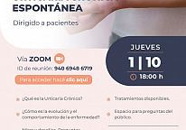 Workshop for patients Urticaria Crónica